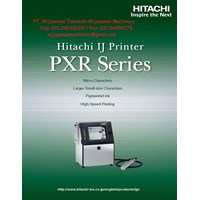 Ink Jet Printer PXR Series Model PXR D240W HITACHI
