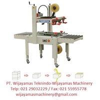 Jual Mesin Segel Atau Mesin Lakban Kardus Semi Automatic Carton Sealer FXJ-6050 Stand Model