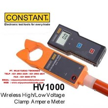 Wireless High-Low Voltage Clamp Ampere Meter HV100