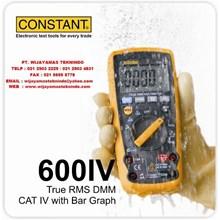 True RMS DMM CAT IV with Bar Graph 600IV Merk Cons