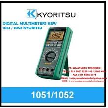 DIGITAL MULTIMETERS KEW 1051 - 1052 KYORITSU