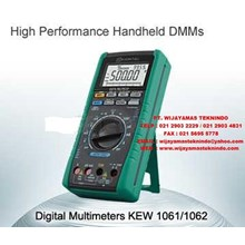 DIGITAL MULTIMETERS KEW 1061 - 1062 KYORITSU