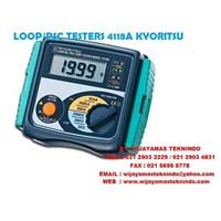 Jual LOOP-PSC TESTERS 4118A KYORITSU