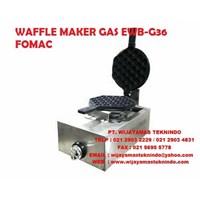 Jual WAFFLE MAKER GAS EWB-G36 FOMAC ( Mesin Cetak )