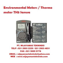 Environmental Meters/Thermo meter TH3 Sanwa