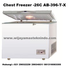 Chest Freezer-20 ˚ C AB-396-T-X (refrigerator and Freezer)