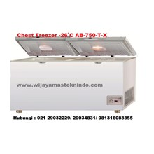 Chest Freezer  -26˚C AB-750-T-X (Kulkas dan Freezer)