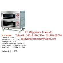 Gas Deck Oven (Mesin Oven Roti) BOV-ARF40H