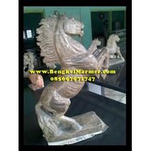 kerajinan batu Ukiran Patung Kuda Marmer Granit