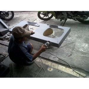Jual jasa pasang kitchen set granit harga murah jakarta for Harga pasang kitchen set