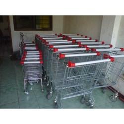 Trolley Belanja Supermarket 180 Liter