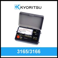 Kyoritsu Analogue Insulation Tester 3165 & 3166