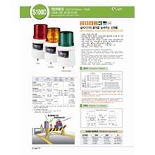 Qlight S100d Lampu Rotary Dengan Sirine Ip54 105Db