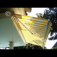 Jual Canopy Sunbrella Motif Garis