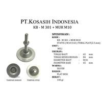 Kb-301 M + M10 Nut M10 Foot Adjuster-X 65