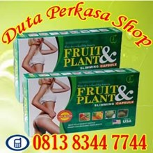 Obat Pelangsing Badan Alami Aman Cepat Pelangsing Fruit & Plant Slimming Capsul