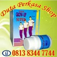 Obat Tambah Tinggi Badan Alami Untuk Semua Usia Secara Alami Obat Peninggi Badan Suplemen Grow Up Super Usa Original 250 Capsule