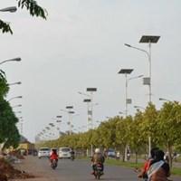 Tiang Solar Cell