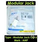 Amp Modular Jack Cat 6