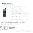 Thuraya Xt-Lite Ponsel Satelit Handal Dengan Jaringan Terluas