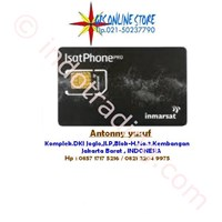 Prepared Sim Card And Toll Isatphone Pro (Inmarsat)