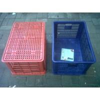 Jual Keranjang Krat Container Industri Panen Padi Ikan Roti Buah Gelas