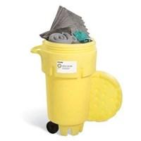 SpillTech SPKU-50-WD 127 Piece Universal 50 gallon Wheeled Spill Kit -