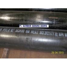 PIPA SEAMLESS-CARBON STEEL SCH 80&160