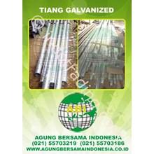 Tiang Galvanized (100% Asli Pembuat Tiang Lampu Jalan)