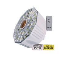 Surya Lampu Emergency 32 SMD LED FITTING E-27 dilengkapi Remote Control SRE L3208RC