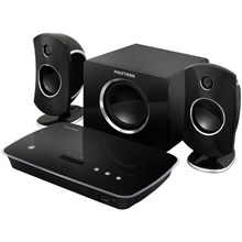 Polytron Home Theatre Mini 2590K DVD Theater In Box Karaoke - Hitam