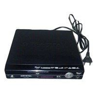 Jual Crystal DVD Player Mini 215 - Hitam