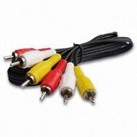 Jual Samsung Kabel Konektor RCA Video Audio Panjang 1.5 Meter