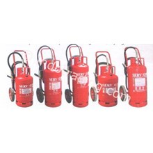 Servvo Fire Extinguisher Trolley