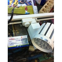 Jual Lampu Rel / Tracking Led Hiled 9Watt ( Medan )