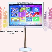 STAR AUDIO-VL AUDIO LED MONITOR TOUCH SCREEN 19