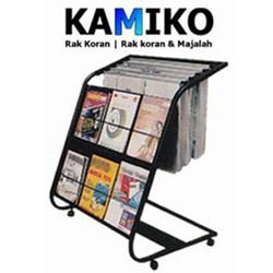 Newspaper And Magazine Rack Kamiko 611