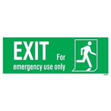 IMPA Code 33.4413 Emergency Exit Left Man Run Right