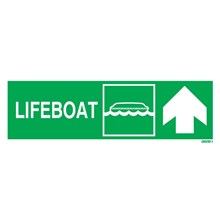 IMPA Code 33.4301 Life Boat Up Right