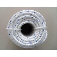 Dia. 34mm Double Braided Hawsers Polypropylene Monofilament Mooring Rope 3 Strand IMPA 210265