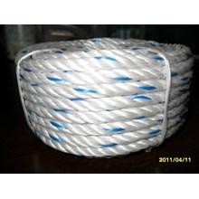 Dia. 36mm Double Braided Hawsers Polypropylene Monofilament Mooring Rope 3 Strand IMPA 210266