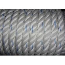 Dia. 48mm Double Braided Hawsers Polypropylene Monofilament Mooring Rope 8 Strand IMPA 210351
