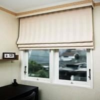 ROMAN SHADES BLINDS.