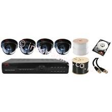 Paket Kamera Cctv Murah 4Channel