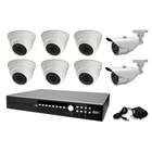 KAMERA CCTV PAKET AVTECH HDTVI 2.0 MP -IO62