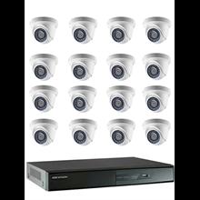 KAMERA CCTV PAKET TURBO LIQUID HD 1080p (160)
