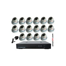 PAKET CCTV 16 CHANNEL AHD HOME 720P MURAH 16 INDOO