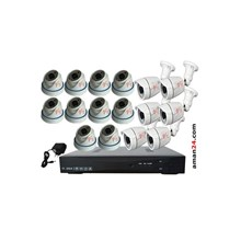 PAKET CCTV 16 CHANNEL AHD HOME 720P MURAH 10 INDOO