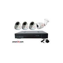 PAKET CCTV 4 CHANNEL AHD OFFICE 1080P MURAH 3 INDO