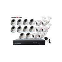 PAKET CCTV 16 CHANNEL AHD OFFICE 1080P MURAH 10 IN